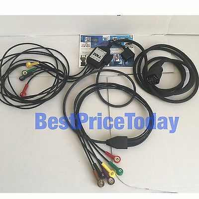 Zoll ECG Limb Leads Patient Cable 12-lead For E & M Series 8000-1006-12 Plus V
