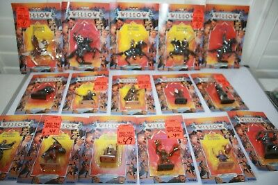 1988 Vintage Tonka Willow Lot Of 16  Mosc New Read