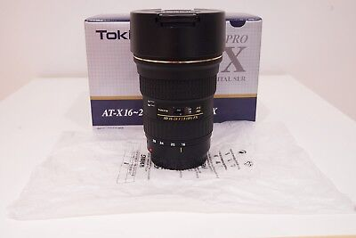 Tokina AT-X 16-28mm f/2.8 PRO FX Series Canon EF Mount