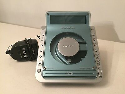 Sony Dream Machine Icf-Cd855L Cd Clock Radio - Free Uk P&p