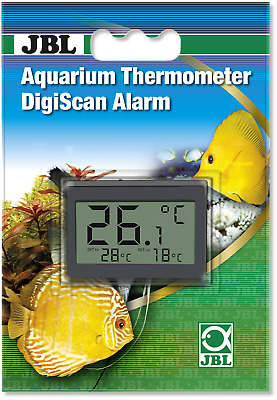 JBL DigiScan With Alarm Digital Thermometer Aquarium Fish Tank Temperature