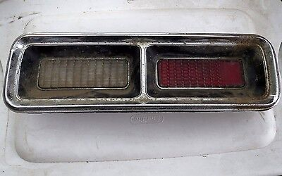 1967 1968 Chevy Camaro Tail Light Lens Assembly Left Hand LH (Driver Side)