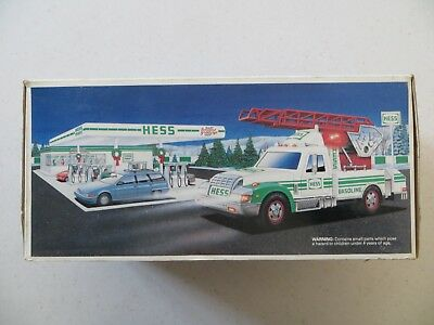 1994 Hess Truck Rescue Truck NEW IN BOX