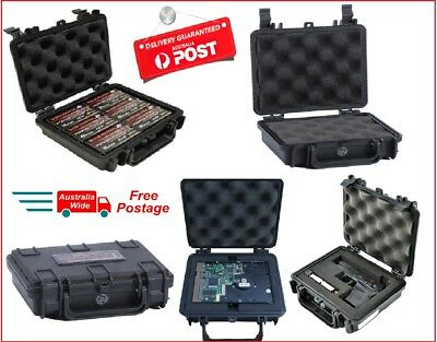 Hard Case .22lr Ammo Range Water Resistant Shockproof Ammunition Box Foam Pluck