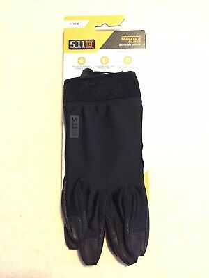 5.11 Tactical 2 Glove Everyday Series in Black Size Large Item 59343