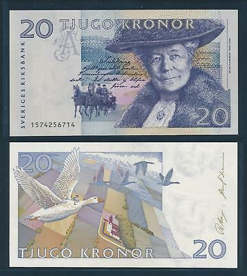 [77299] Sweden 1991 20 Kronor Bank Note UNC P61a