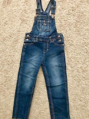 Girls Toddler Jordache Overall Jeans Size 4T