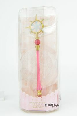 Cardcaptor Sakura 4-Inch Stand Wand - Clear Wand With Magic Circle Base