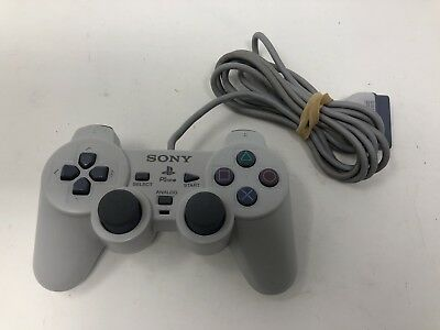 Official OEM Sony Playstation 1 PS1 PSone Dual Shock Controller White SCPH-110