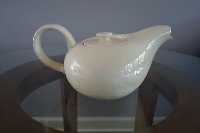 Russel Wright American Modern Teapot in White