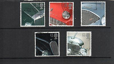 GB Queen Elizabeth.Set of Five used stamps. SG 1945 to 1949