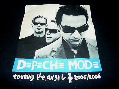 Depeche Mode 2005/06 Tour Shirt ( Used Size L ) Very Good Condition!!!