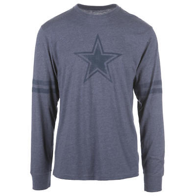 Dallas Cowboys NFL Men's Long-Sleeve Logo T-Shirt, Size Large, New With Tags