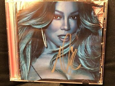 Mariah Carey Caution Autographed CD Signed GTFO