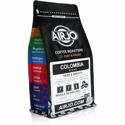 COLOMBIA - Fresh Roasted Coffee Beans - 100% ORGANIC - Roasted Fresh Daily