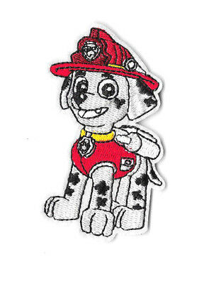MARSHALL Iron on / Sew on Patch Embroidered Cartoon Badge Paw Patrol PT382