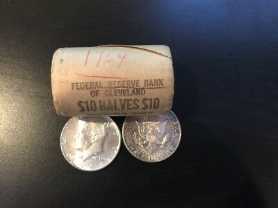 1964 Kennedy Half Dollar from Mint Roll of Cleveland UNC BU Uncirculated 1 Coin
