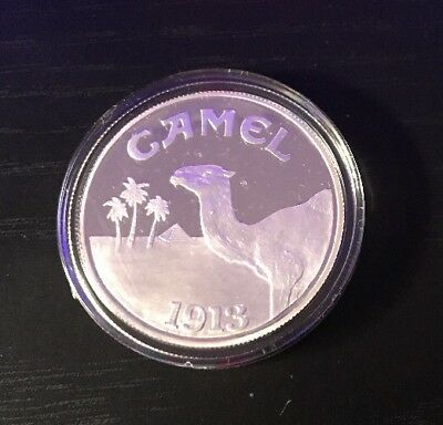 Joe Camel 1oz Silver Round Cool Joe Camel