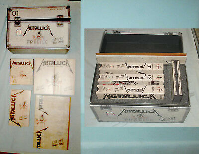 Boxed 1993 Metallica  Binge and Purge VHS-CD Set - Extras Box Fair, Contents Exc