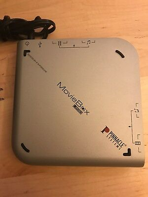 Pinnacle Systems MovieBox USB Video Capture Device - Design by F.A. Porsche