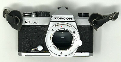 Topcon RE 200 SLR Camera Body ONLY (No Lens)