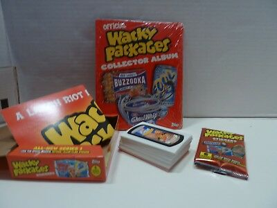 Wacky Packages Collector Album + MORE