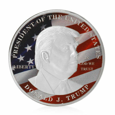 USA 45th President Donald Trump Challenge Coin Medal Make America Great Again SP