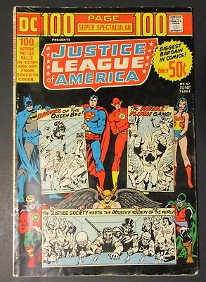 DC Comics Justice League  # 1 / 100 Page Spectacular 1973 Vintage Old Comics