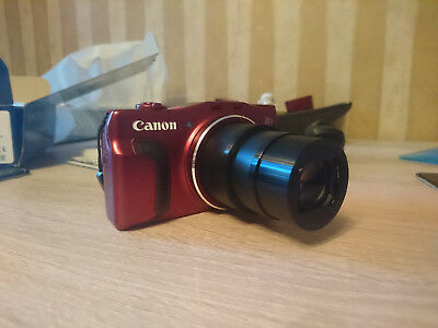 Canon PowerShot SX710 HS 20.3MP Digital Camera -RED