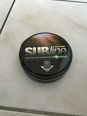 Korda SUBline brown 0,30mm 1000m NEU