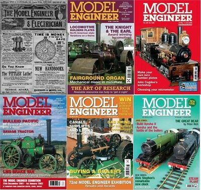1500+ Model Engineer Magazine's Archive's - *1901-2011* (3 DVDs) + Extras PDF's