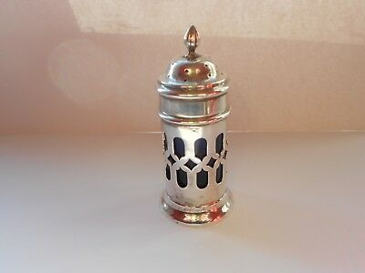 Edwardian Solid Silver Pepper Pot/Pepperette - 1898 B'ham - William Adams Ltd