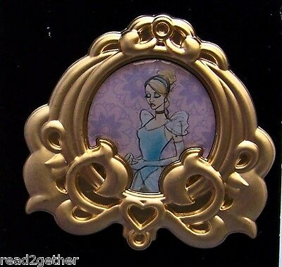 Disney Pin Stylized Princess Portrait Cinderella