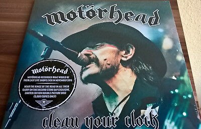 Motörhead Clean your Clock (2 picture vinyl)limited edition 5000 mal weltweit