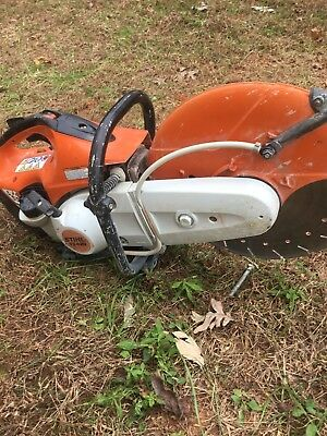 "STIHL TS 420 Concrete Cut-Off Saw with Water Line & 14"" Blade, NO RESERVE"