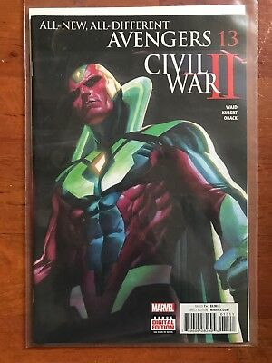 All-New All Different Avengers issue #13 (Civil War II tie-in)