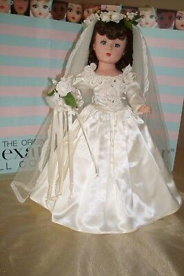 "Madame Alexander 18"" Beautiful Vintage Original ""margaret Bride"" Tagged 1953"