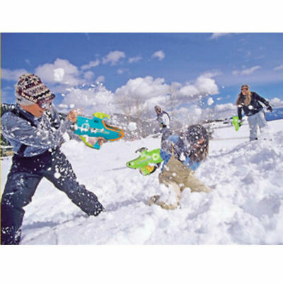 3 In 1 Water Balloon Snow Ball Throw Gun For Kids Toy Game Fun Activity Outdoor