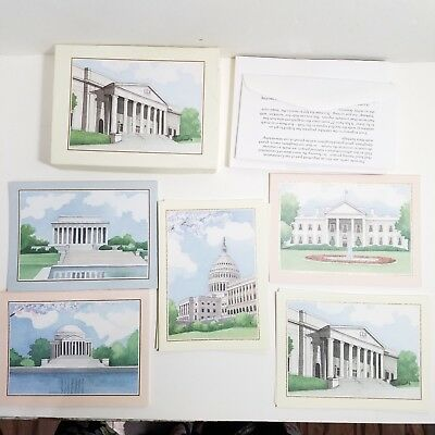 1993 National Society Daughters Of The American Revolution 15 Blank cards Env