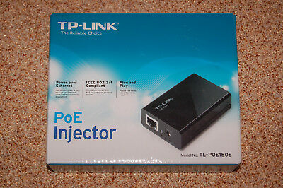 TP-Link TL-PoE150S (2 Ports - 10/100/1000 RJ45) PoE (Power Over Ethernet) OVP