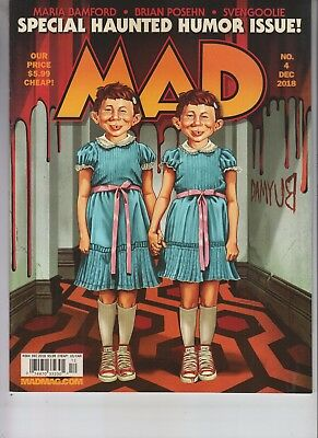 Special Haunted Humor Mad Magazine December 2018 No Label Issue #4 Halloween