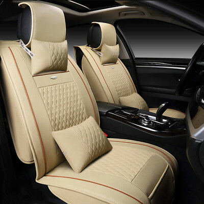Awe Inspiring Us 11X Beige Pu Leather Seat Covers For Lexus Rx350 Is250 Gmtry Best Dining Table And Chair Ideas Images Gmtryco