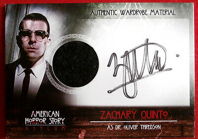 AMERICAN HORROR STORY - ASYLUM - ZACHARY QUINTO - AZQ - #57 of 65 Autograph