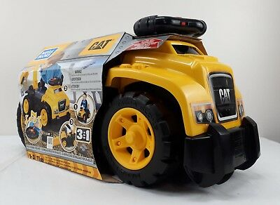 Mega Blocks CAT 3 in 1 Excavator Ride-on Sounds Kids Baby Toy Gift NEW