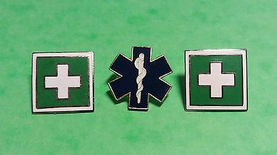 Pin Pins Anstecker Feuerwehr Sapeur Pompiers firefighting Star of Life First Aid