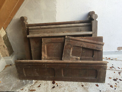Church Pew Parts. Parts of a pew Architectural salvage. Genuine period features