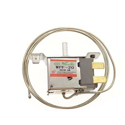 2 Pin WPF-20 Terminals Freezer Refrigerator Thermostat with Metal Cord FD D