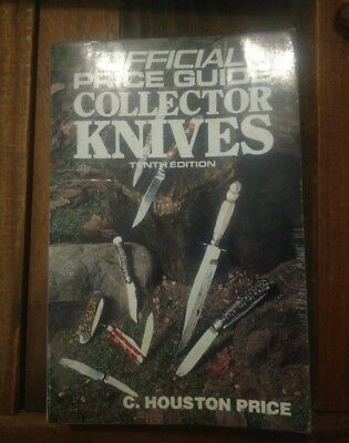 THE OFFICIAL PRICE GUIDE COLLECTOR KNIVES TENTH ED Knife Blade paperback 1991