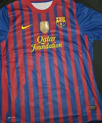 Fc Barcelona Messi Trikot Jersey 2011 / 2012 Spieler Version Player issue