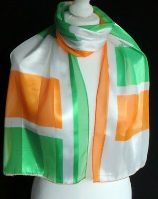 Shamrock Scarf ST PATRICKS DAY 17th March FAST FREE DELIVERY *